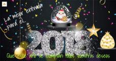 Personalizar nuestra felicitación de año nuevo para comenzar a vivir la nueva etapa del modo que queremos.