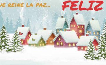 Felicitacion Navidad Personalizada Fotos.Tarjeta De Felicitacion Personalizada Para El Ano Nuevo