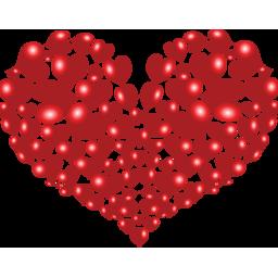 multitud de corazones