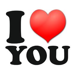 mensaje con corazón