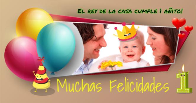 tarjetas cumpleaños con foto personalizadas