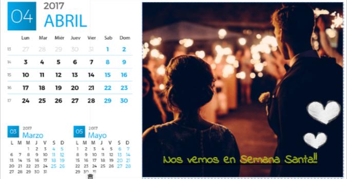 calendarios personalizados con foto