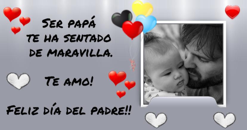 felicitación día del padre