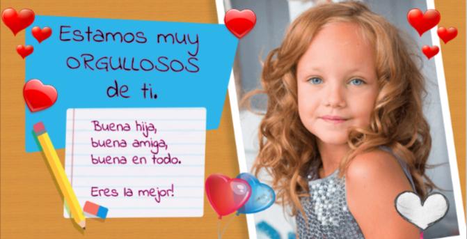 tarjetas de felicitación para niños