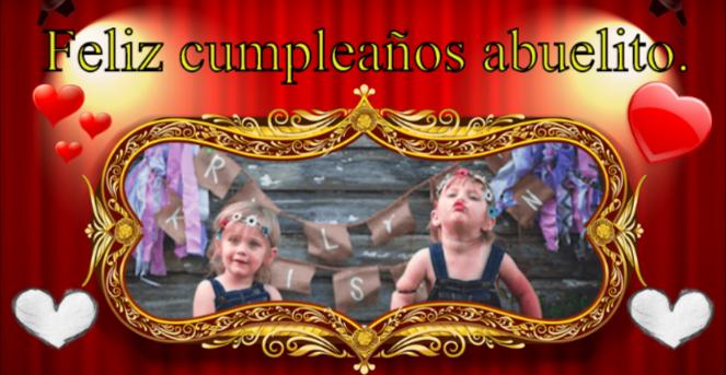 felicitar el cumpleaños con una tarjeta postal