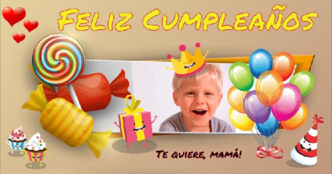 tarjetas de cumpleaños con foto