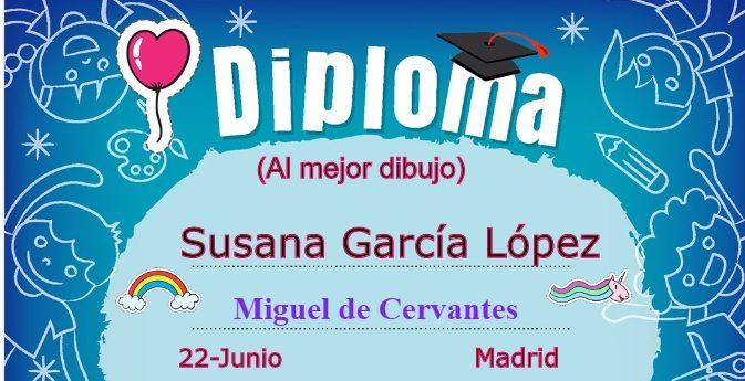 Tarjetas personalizadas con diplomas escolares para niños.