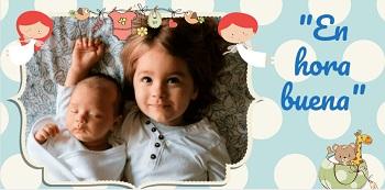 Hacer tarjetas de felicitación para bebés niño.