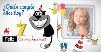 Hacer tarjetas cumpleaños originales con foto.