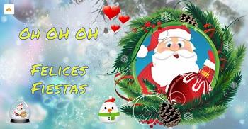 Crear tu propia postal de navidad gratis