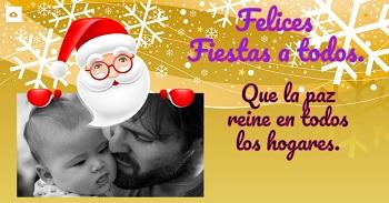 Carta a papá Noel para facebook.
