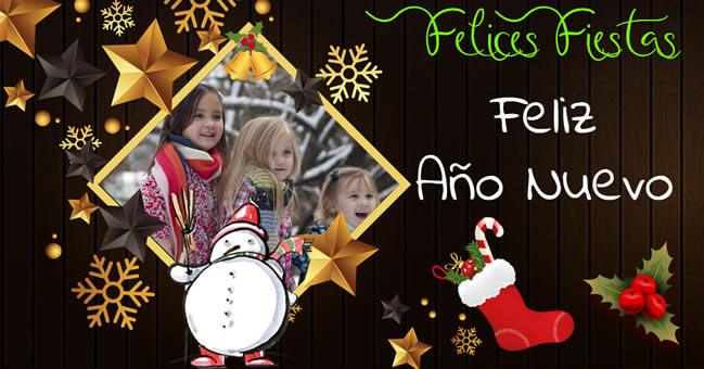 Felicitaciones Navideñas con Fotos
