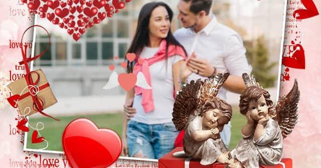 Tarjetas San Valentín para personalizar con foto